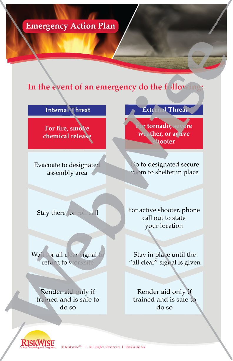Emergency Action Plan Poster
